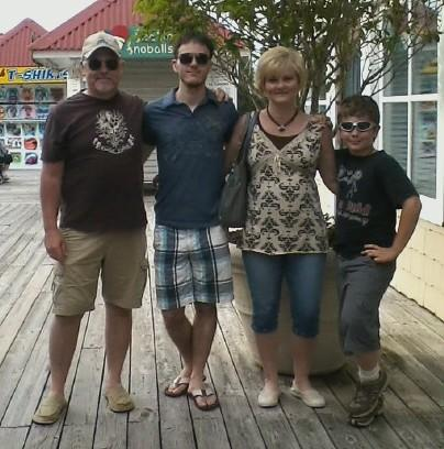 Starr's Family at Barefoot Landing Myrtle Beach 2012