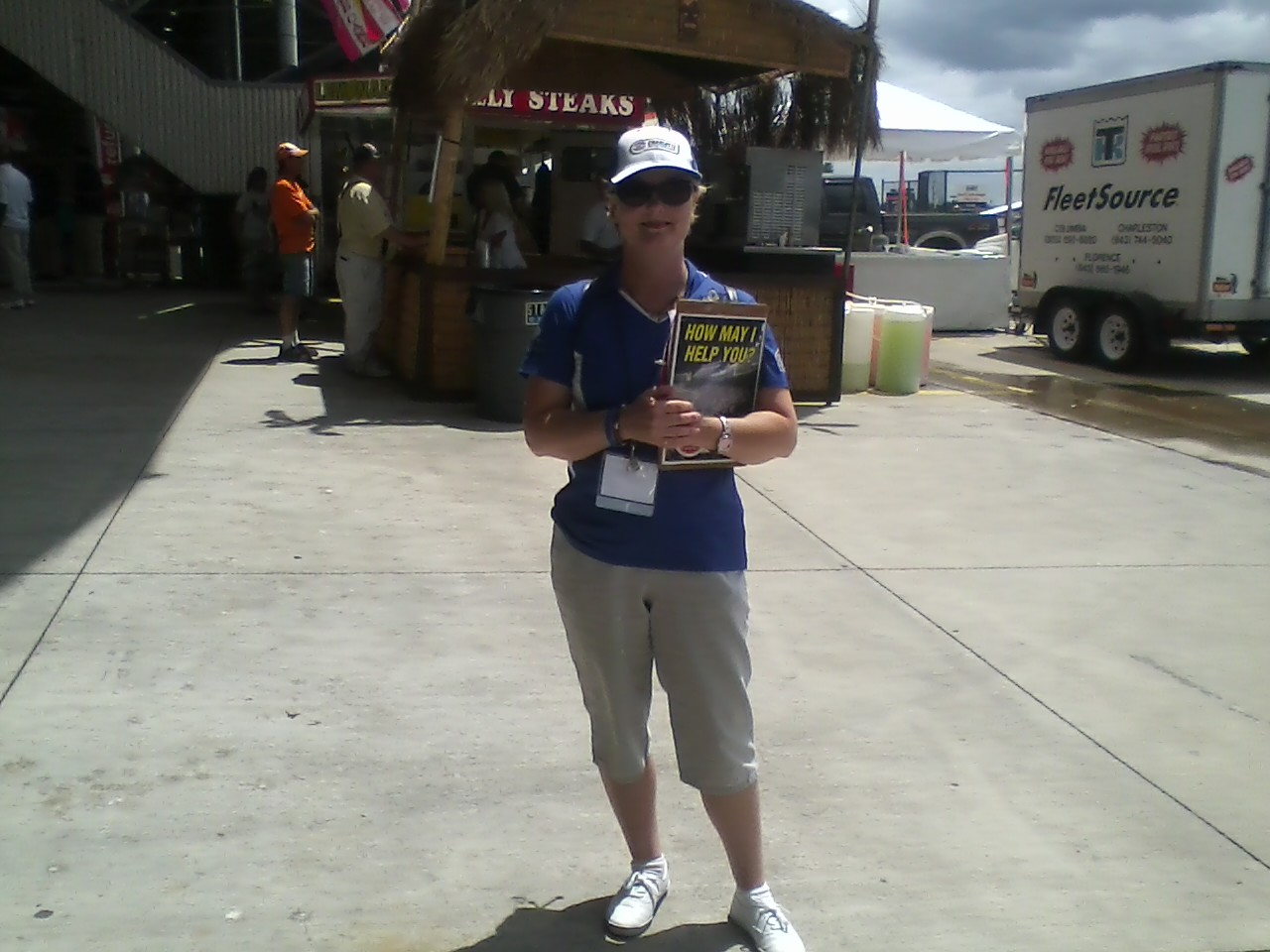 Starr Working for Motor Racing Outreach at Charlotte Motor Speedway 2012